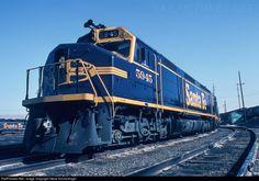 RailPictures.Net Photo: ATSF 5945 Atchison, Topeka & Santa Fe (ATSF) EMD FP45 at Barstow, California by Steve Schmollinger