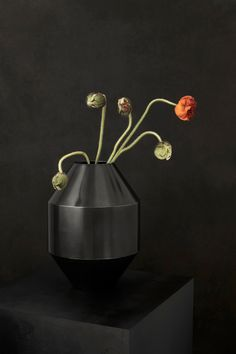 Classic yet contemporary – and collectible. The Hydro Vase by Sofe Østerby. The dark, almost black oxidised surface adds a subtle dimension to an enduring design that seems to defy time. Culminating in a vase that doubles as a decorative sculpture. #fredericiafurniture #complements #hydrovase #hydro #sofieøsterby #modernoriginals #craftedtolast #interiordesign #danishdesign #scandinaviandesign Vase, Danish Design, Scandinavian Design, Contemporary, Modern, Surface, Sculpture, Interior Design, Classic