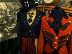 Retro G Couture Fw13 spencer coat Top Hat Dickensian style aristocrat neo…