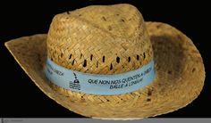 [Servizo de Normalización Lingüística do Concello de Vigo, 2010] Cowboy Hats, Nail, Santiago De Compostela, Western Hats