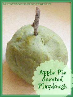 Apple Pie Scented Playdough