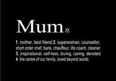 Mum u r all these things but ur my world too!!!! xxxxxx