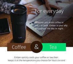 Ember - Temperature Adjustable Mug   Indiegogo