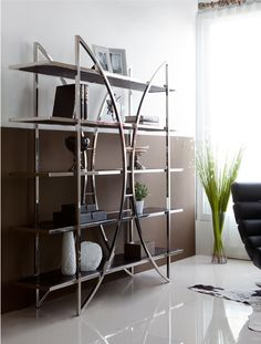In order to keep those memories and stories of a lifetime – books and other accessories – in a single place, we present you these amazing living room bookcases. Contemporary Furniture Stores, Contemporary Bookcase, Modern Bookcase, Luxury Furniture, Modern Furniture, Futuristic Lighting, Small Living Room Furniture, Set Of Drawers, Stylish Beds