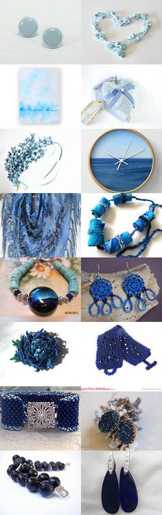 Ombre by Allison and Sheryl from AllisonGlickCeramics on Etsy--Pinned with TreasuryPin.com