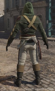 ArtStation - Assassin's Creed Unity, Avatar Napoleonian outfit one., Mathieu Goulet