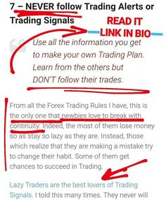 10 Awesome Tips you see in the world that are the most valuable #Forex Tradin