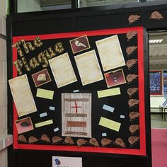 The Plague and The Great Fire of London  Year 2 display KS1 Part 1