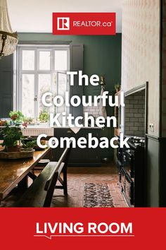Welcome to the era of the colourful kitchen! The time has come to spice up your kitchen in your favourite shades. From full room transformations to subtle pops of colour, we have the tips you need on REALTOR.ca Living Room.  #REALTORdotca #colourfulkitchens #kitchen #kitchendesign #colourpalette #colourscheme #interiordesign #homedecor #designwithcolour