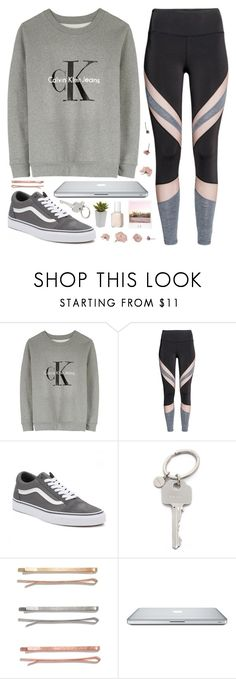 """""""Blossom☆"""" by alexandra-provenzano ❤ liked on Polyvore featuring Calvin Klein, Vans, Paul Smith, Polaroid, Madewell, Nearly Natural and Essie"""