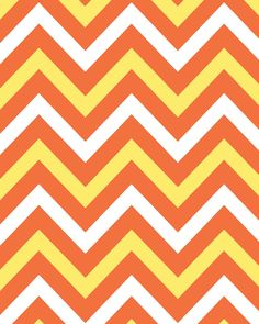 Candy Corn Colored Chevron 8x10 Background: Free Printable