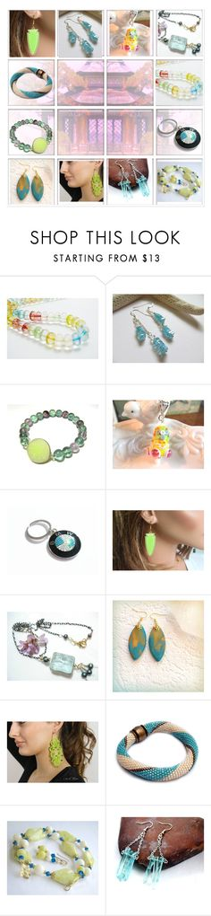 """""""Jewelry Gifts on ETSY"""" by belladonnasjoy ❤ liked on Polyvore featuring BMW"""