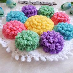 Popcorn-Faserprobe Source by yldzaydin Knitting Terms, Baby Knitting, Knitting Patterns, Popcorn, Crochet Towel, Coloring Book Art, Viking Tattoo Design, Flower Embroidery Designs, Sunflower Tattoo Design