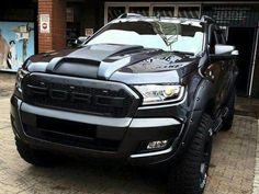 Nasty 2016 Ford Ranger.