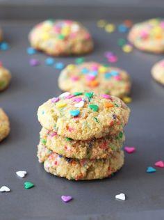 Valentines Coconut Flour Cookies