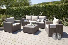 Het ultieme loungegevoel in de tuin! #garden #allibert