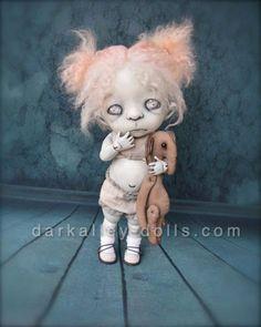I am soooo enamored with this artdoll JUST FAB!  Giclee Fine Art Print. Dark Alley BJD Art Doll. by DarkAlley
