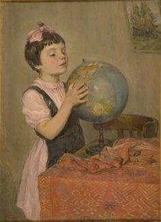 """Where is Moscow? / Где Москва моя? "", 1951. Гохберг Н.Д. #globe"