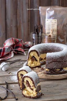 Ciambella pan brioche vaniglia e cacao – Impastando a quattro mani