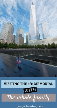 Heading to New York City? Then you need to visit the Memorial with the whole family. It's a visit you won't forget! Nyc With Kids, Travel With Kids, Family Travel, New York Vacation, New York City Travel, Visiting Nyc, Us Road Trip, I Love Ny, Vacation Destinations