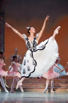 Maria Chapman as Spinner in PNB's Coppelia  Photo by Angela Sterling