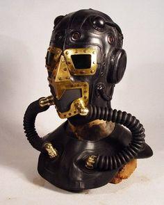 ɛïɜ Steampunk Leather Masks   Retronaut 9 ~ ɛïɜ