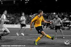 Cambruidge United Football Club footballer Luke Berry Man Of The Match, The Man, Cambridge United Fc, Berry, The Unit, Football, Club, Running, Soccer
