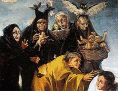 """""""Las Brujas """" de Francisco de Goya"""
