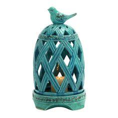 Ceramic Birdcage Candle Holder  was $52.73  13% Off  $45.74