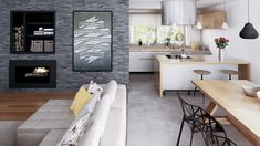 278 000 zł Beautiful House Plans, Beautiful Home Designs, Dream House Plans, Small House Plans, Design Your Dream House, House Design, Home Design Floor Plans, Concept Home, Charming House