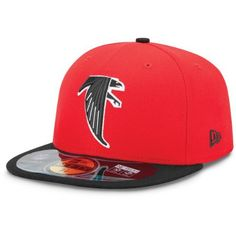 b208845b1770b Men s New Era Atlanta Falcons On Field Classic 59FIFTY  Football Structured  Fitted Hat 7 Falcons