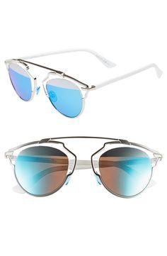 c83bf98da85 Dior So Real 48mm Brow Bar Sunglasses