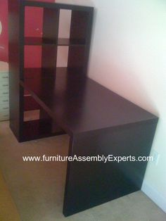 ikea Expedit Workstation Desk assembled in Washington DC by Furniture Assembly Experts company