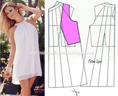 Great site on how to transform a basic sloper to different styles Sewing Patterns Free, Free Sewing, Clothing Patterns, Dress Patterns, Free Pattern, Techniques Couture, Sewing Techniques, Diy Clothing, Sewing Clothes