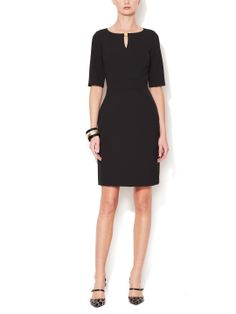 Keyhole Quarter Sleeve Dress by Tahari ASL