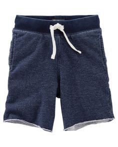 Star Pocket Indigo French Terry Shorts