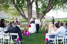 Bride and Bloom Design Company - Grand Junction Wedding Florist. | Ceremony Design