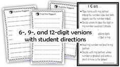 Math Coach's Corner: Getting Math Work Stations Off the Ground. Math Coach's Corner: Get your math workstations off to a good start with these tips! Includes an easy and flexible place value game that you can download for free! (scheduled via http://www.tailwindapp.com?utm_source=pinterest&utm_medium=twpin&utm_content=post1322445&utm_campaign=scheduler_attribution)