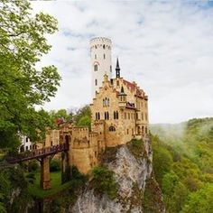 365 WONDERS OF THE WORLD: #68  Lichtenstein Castle in Germany is the perfect romantic castle. Built perilously on the edge of a cliff in the Swabian Alps, it's worth the 1 hour drive from Stuttgart. Its majestic beauty has even inspired a novel   Book flights>> http://www.travelstart.co.za/lp/stuttgart/flights  #365wondersoftheworld #germany #europe