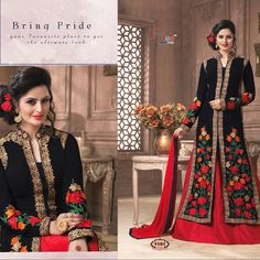 Checkout this heavy embroidered lehenga suit  Fabric Details :- Top :- Georgette Emb.work with stone work Sleeves :- Georgette emb.work with stone  Lengha : banglori silk Material(2.50 miter) Dupatta :- Nazmin Chiffon  Length :- Max up to 50 Size :- Max up to 44 Type :-semi stiched Weight :- 1.00kg  Colour :- 2/ black & blue  Wash :- First time Dry clean  Price : 1900 INR Only ! #Booknow  CASH ON DELIVERY Available In India ! Shipping Charges Extra 👉 World Wide Shippin..