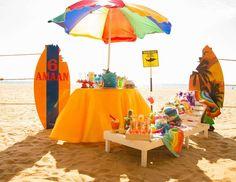 Πάρτι στην παραλία για παιδιά: Πώς να το κάνετε αξέχαστο