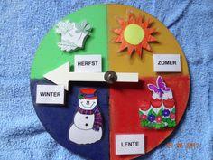 kleutertjes seizoenskalender Diy And Crafts, Seasons, Winter, Projects, Kids, British, Education, Calendar, Winter Time