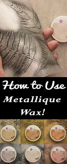 Art Alchemy Metallique Wax Tutorial by Heather Tracy for The Graphics Fairy! Such a great Mixed Media Art Technique!