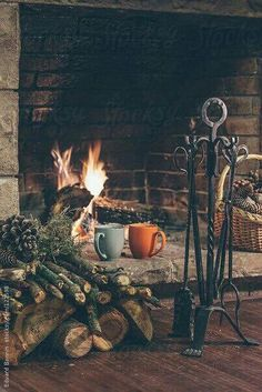 Imagen de winter, fire, and christmas