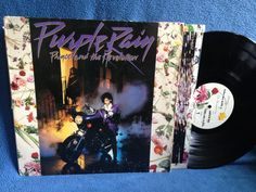 RARE Vintage Prince  Purple Rain Vinyl LP Record by sweetleafvinyl