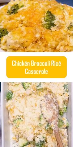 Chickén Broccoli Ricé Casserole ingredients 2 boneless and skinless chicken breasts Salt/pepper to taste 2 cups long-coo. Keto Recipes, Cooking Recipes, Easy Recipes, Oven Dishes, Side Dishes, Chicken Broccoli Rice Casserole, Easy Meals For Two, Yummy Food, Delicious Recipes