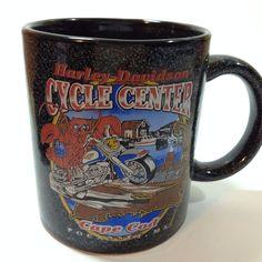 Harley Davidson Cycle Center Cape Cod Pocasset, MA. One Harley Davidson Mug. From NON-SMOKING, PET-FREE HOME. | eBay!