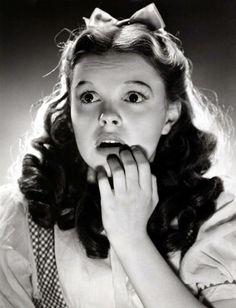 Judy Garland (June 10, 1922 - June 22, 1969). Dorothy in the Wizard of OZ (1939).