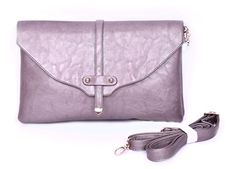 Hoho com Crossbody Purse for Women fashion clutch bag Strap bag Tote Shoulder Bag Silver >>> To view further for this item, visit the image link.