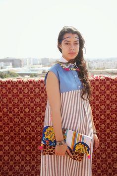 "Look ""Khit errouh"" (headband) | Ghitta Laskrouif"
